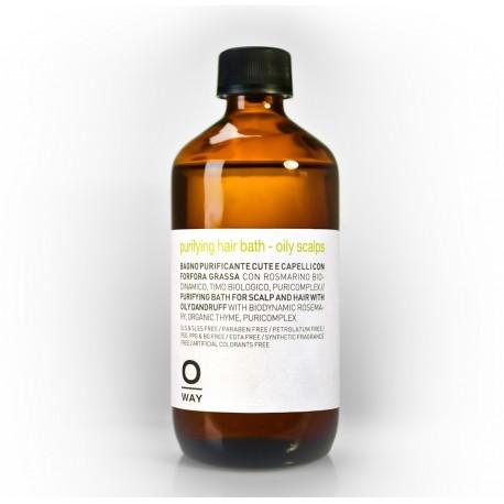 Purifying hair bath – oily scalps Oway Shampoo bio purificante naturale