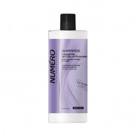 NUMERO Shampoo lisciante all'olio di avocado 1000 ml