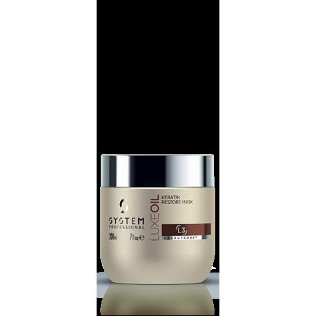 Luxeoil keratin restore mask 150ml
