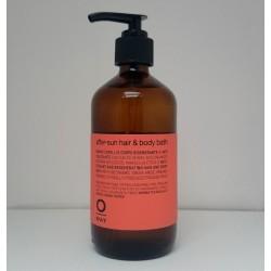 After-sun hair & body bath Oway Shampoo dopo-sole bio