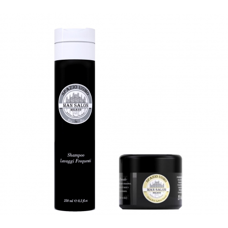 SB Water Soluble Sheen Pomade + shampoo